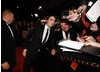 Twilight heartthrob Robert Pattinson gets up close to fans (BAFTA/Richard Kendal).