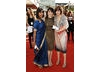 Casualty stars Sunetra Sarker, Gillian Kearney and Georgia Taylor presneted a colourful picture on the Television Awards red carpet (BAFTA/ Richard Kendal). 
