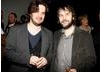 Edgar Wright and Peter Jackson after the event  (BAFTA/Brian J Ritchie).