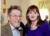 John Hurt with BAFTA CEO Amanda Berry