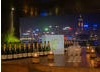 Champagne Taittinger on display at the Peninsula Hong Kong.