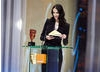 Orange Rising Star Award winner in 2007, Eva Green, presents the award in 2008 to Shia Labeouf (pic:BAFTA / Camera Press).