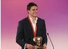 Olympian Pete Reed presents the Factual Award in 2008