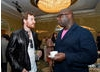 Michael Fassbender and Steve McQueen at the BAFTA LA 2014 Awards Season Tea Party.