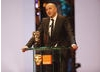 Philippe Claudel collected the BAFTA for Film Not in the English Language on behalf of himself and Yves Marmion for the French film I've Loved You So Long (BAFTA / Marc Hoberman).