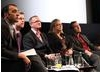 The Panel sit together to talk about greening the screen. (Photography: J.Simmonds)