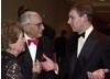 Jo Greene, Guy Greene with HRH Prince Andrew, Duke of York.