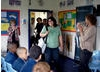 Director Gurinder Chadha visiting a school in Hendon as part of a FILMCLUB event (June, 2008). 