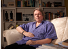 Screenwriter Christopher Hampton poses for the BAFTA and BFI Screenwriters' Lecture Series 2010.
