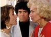 Facing off with Victoria Abril and Marisa Paredes on the set of High Heels (1991). Mimmo Cattarinich