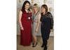 Ceri Nia Lewis, Fiona Lynch and Allison Dowzell from BAFTA Cymru / o BAFTA Cymru