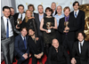 The team behind Horrible Histories celebrate their BAFTA win for Comedy.