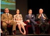Hugh Bonneville, Michelle Dockery, Allen Leech and Julian Fellowes