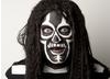 Noel Fielding was turned into Mighty Boosh character, the spirit of Jazz by Christine Cant. (Photogrpahy: Ed Miller)