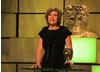 Broadcast journalist Kate Silverton presents the award for Single Documentary.