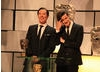 Sherlock's Benedict Cumberbatch and Doctor Who's Matt Smith introduce the Academy's Special Award.
