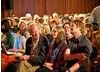 A packed audience anticipating the BAFTA in Scotland interview with Bill Nighy.