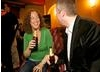BAFTA member Ali Strauss enjoying a refreshment from Cusquena Beer,