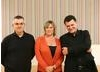 Steven Moffat & Sue Vertue at the Kaleidoscopic Adaptations Festival on 9 September 2010.