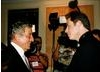 Tony Bennett and John Travolta