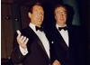 Roger Moore and Michael Caine