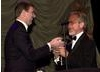 HRH Prince Andrew, Duke of York presents the Britannia Award to Steven Spielberg