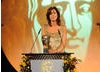 Julia Bradbury takes to the BAFTA stage to present the Award for Editing Factual.