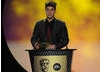 2010 X Factor contestant Aiden Grimshaw presents the Kids' Vote awards as voted for by thousands of children aged 7-14. Pic: BAFTA/Steve Finn