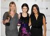 Disney Channel star Selena Gomez presented the International Award to Yo Gabba Gabba.