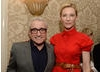 Martin Scorsese and Cate Blanchett at the BAFTA LA 2014 Awards Season Tea Party.