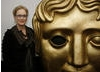 Meryl Streep arrives at BAFTA Headquarters in London for a Life in Pictures event exploring her unique contribution to film (BAFTA / Marc Hoberman).