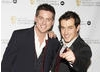 Presenters Dick and Dom arrive at the EA British Academy Children's Awards ceremony