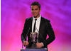 Actor and singer Richard Fleeshman reads out the nominations (Kirby's Epic Yarn, LittleBigPlanet 2, LEGO Pirates Of The Caribbean, Pokemon Black and White) and announces the winner of the Video Game category.