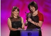 Kindle Entertainment proudly collect their BAFTA for Independent Production Company.