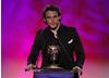 Sam Claflin, star of Any Human Heart, reads out the nominations (Harry Potter And The Deathly Hallows: Part 1, Harry Potter And The Deathly Hallows: Part 2, Kung Fu Panda 2, Tangled) and winner of the Feature Film category.