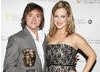 Richard Hammond, winner of Presenter of the Year with citation reader, Gemma Bissix.