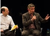 Moderator Brian Rose And Steve Coogan