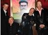 The team relax backstage after the Monty Python reunion event in New York on 15 October 2009 ( BAFTA)