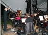 The live orchestra play the score to Moulin Rouge at Latitude Festival 2008. 