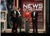 The ITV News at Ten Team collect the Bafta for their coverage of the Haiti earthquake. (BAFTA/Steve Butler)
