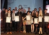 British Academy Scotland New Talent Award winners and presenter Muriel Gray.