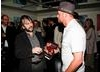 Peter Jackson And Simon Pegg  (BAFTA/Brian J Ritchie).