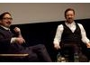 Q&A moderated by John Hodgman with Ricky Gervais of