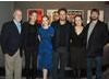 Kathryn Bigelow, Mark Boal, Jennifer Ehle, Jessica Chastian, Jason Clarke and moderator Steve Daly 