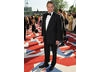 The Downton Abbey star, pictured here in a Chester Barratt suit,  is up for the Male Performance in a Comedy Programme award for his work in Twenty Twelve.