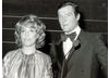 Roger Moore on stage with Esther Rantzen.