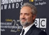 Sam Mendes, director of Skyfall, arrives at the Awards.