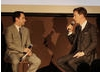 Benedict Cumberbatch and moderator Scott Feinberg