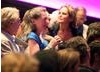 The audience in BAFTA's Princess Anne Cinema pose questions to Brosh McKenna. (Photography: Jay Brooks)