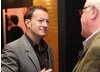 Simon Beaufoy joins his guests after completion of his screenwriters' lecture. (Photography: Jay Brooks)